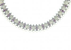Rubi temple necklace
