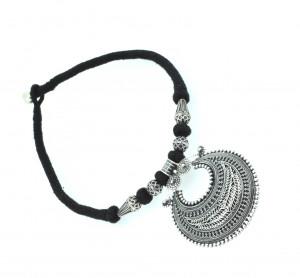 Rava Designer Silver Pendant Necklace