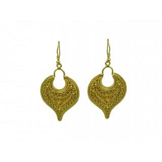Pear Rava Earring