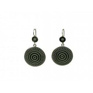 Rava spiral earring