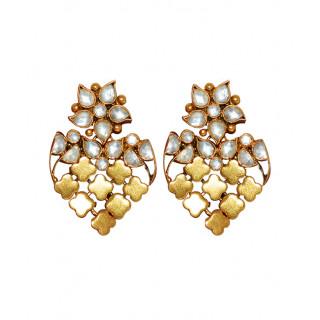 Royal Kundan Balar Earring