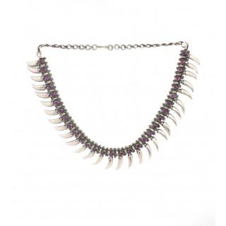 Unique Ruby Necklace