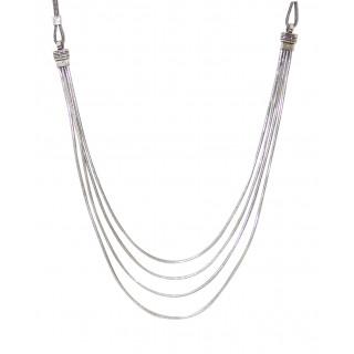 Multi Line Chain Necklace